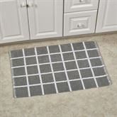 Keagan Bath Rug Gray 30 x 20