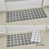 Keagan Bath Rug Runner Gray 60 x 22