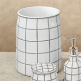 Keagan Wastebasket Gray