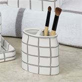 Keagan Brush Holder Gray
