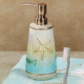By the Sea Coastal Lotion Soap Dispenser Multi Bright