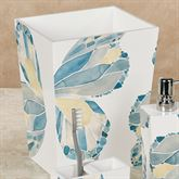 Butterfly Wastebasket Off White