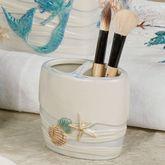 Sea Splash Toothbrush Holder Ivory