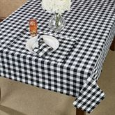 Cottage Check Oblong Tablecloth