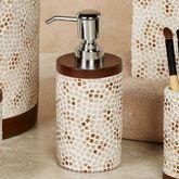Mini Mosaic Lotion Soap Dispenser Multi Warm
