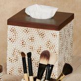 Mini Mosaic Tissue Cover Multi Warm