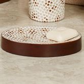 Mini Mosaic Soap Dish Multi Warm