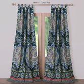 Cleo Tab Top Curtain Pair Midnight Blue 84 x 84