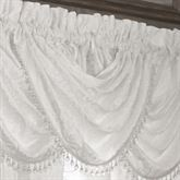 Bianco Waterfall Valance White 43 x 33