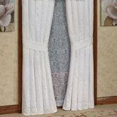 Carmella Tailored Curtain Pair White 98 x 84