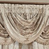 La Scala Waterfall Valance Fawn 49 x 33
