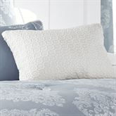 Ansonia Crochet Tailored Accent Pillow Off White Rectangle