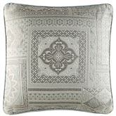 Marissa Piped Pillow Aqua 18 Square