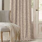 Mina Tailored Curtain Panel Parchment