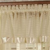 Nimbus Stripe Gathered Valance