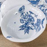 Indigo Cotton Melamine Large Bowl Blue