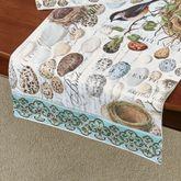 Nest and Egg Table Runner Multi Earth 16.5 x 60