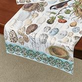 Nest and Egg Table Runner Multi Earth 16.5 x 60