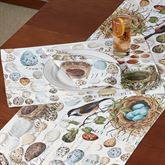 Nest and Egg Placemats Multi Earth Set of Four