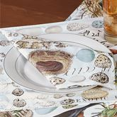 Nest and Egg Napkins Multi Earth Set of Four