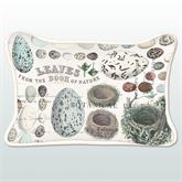Nest and Egg Rectangle Accent Pillow Multi Earth 18 x 12