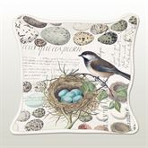 Nest and Egg Square Accent Pillow Multi Earth 18 Square