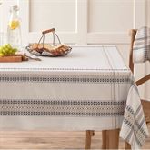 French Picnic Oblong Tablecloth Natural