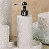 Perugia Lotion Soap Dispenser Off White
