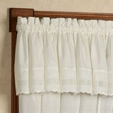 Danielle Tailored Valance 58 x 14
