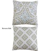 Lucca Reversible Quilted Pillow 16 Square