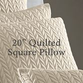 Camdyn Quilted Pillow 20 Square