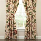 Laurel Springs Wide Curtain Pair Light Almond 100 x 84