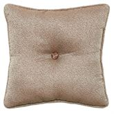Trieste Tufted Pillow Chocolate 16 Square