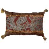 Valentina Tailored Pillow Claret Rectangle