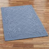Lattice Scroll Rectangle Rug