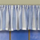 Coastal Stripe Tailored Valance 56 x 13