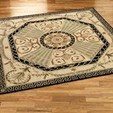 Imperial Palace Square Rug Beige 8 Square