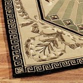 Imperial Palace Rug Runner Beige 23 x 8