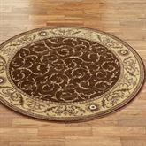 Somerset Scroll Round Rug