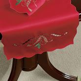 Holiday Nouveau Cutwork Table Runner