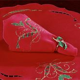 Holiday Nouveau Cutwork Napkin Set