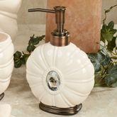 Jemma Lotion Soap Dispenser Beige
