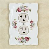 Summer Bloom Single Outlet White