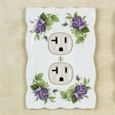 Everly Rose Single Outlet White
