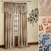 Leaf Tailored Curtain Panel 54 x 84