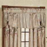 Leaf Pleated Valance 54 x 20