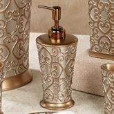 Allure Lotion Soap Dispenser Silver Gold
