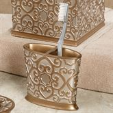 Allure Toothbrush Holder Silver Gold