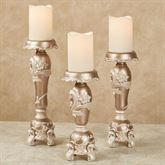 Alynna Candleholders Mocha Set of Three