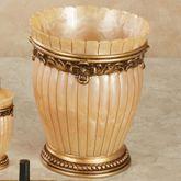 Roma Wastebasket Gold